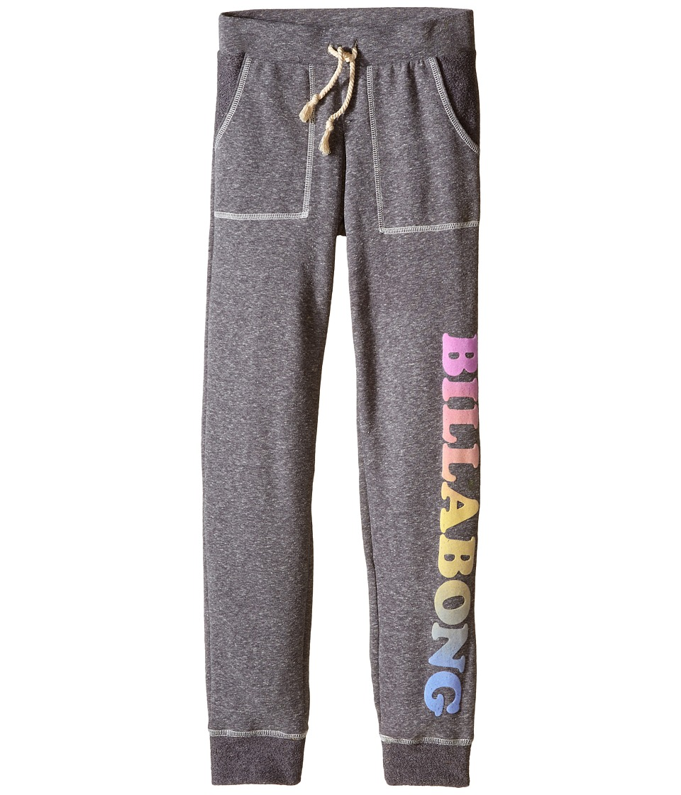 Billabong Kids - Sunshine Dance Pants (Little Kids/Big Kids) (Dark Athletic Grey) Girl's Casual Pants