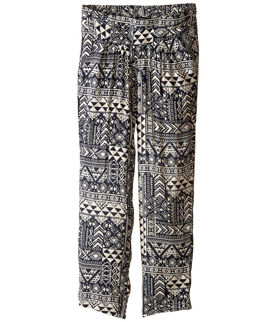 Billabong Kids - Sweet Islander Pants (Little Kids/Big Kids) (Off-Black) Girl's Casual Pants