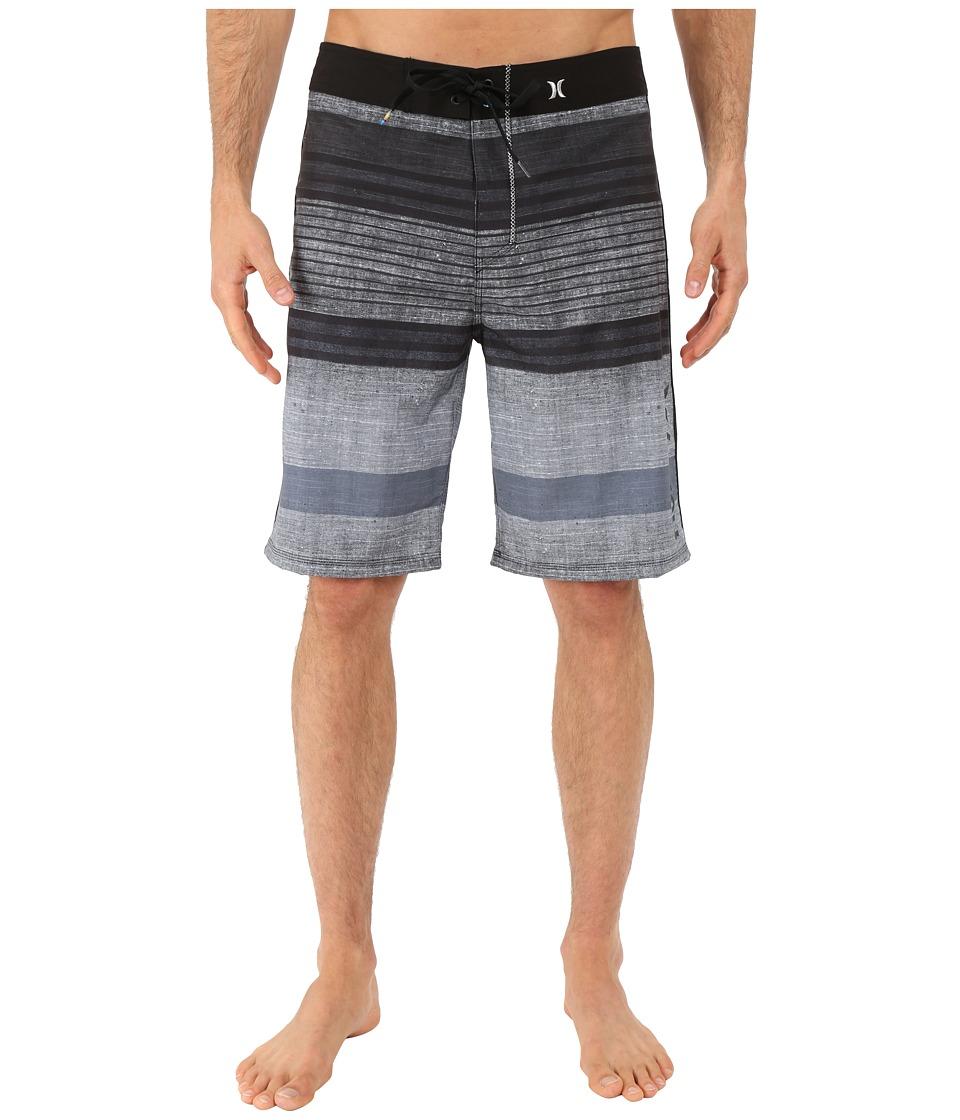Hurley - Phantom Clemente 21 Boardshorts (Black) Men's Swimwear