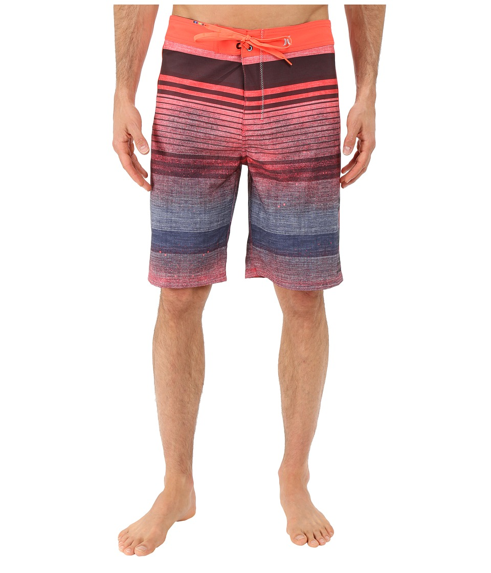 Hurley - Phantom Clemente 21 Boardshorts (Bright Crimson) Men's Swimwear