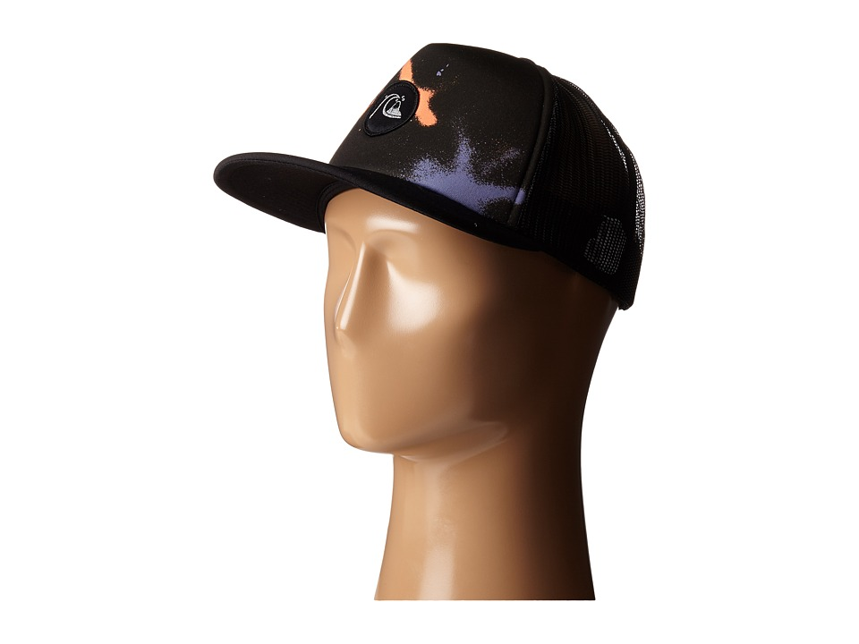 Quiksilver - Blasted Trucker Hat (Black) Caps