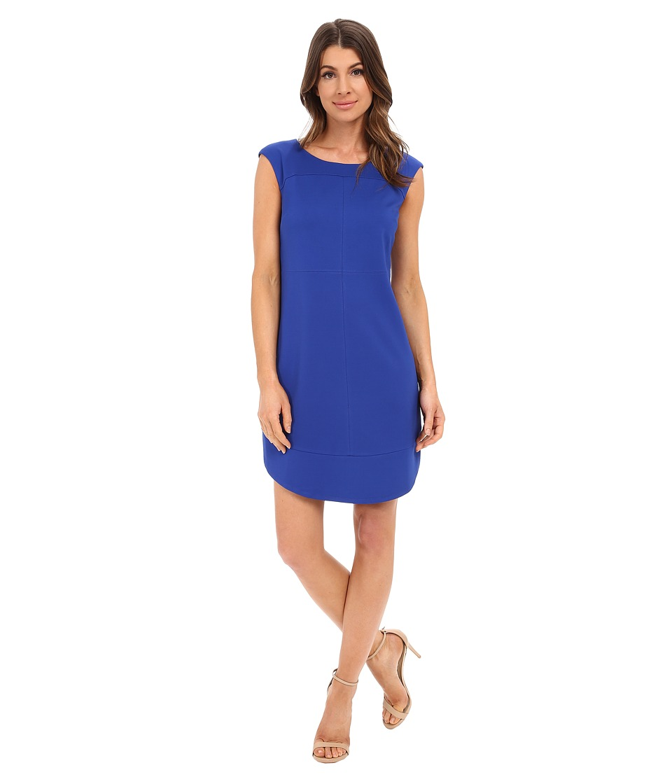 Laundry by Shelli Segal Cap Sleeve Sheath Dress