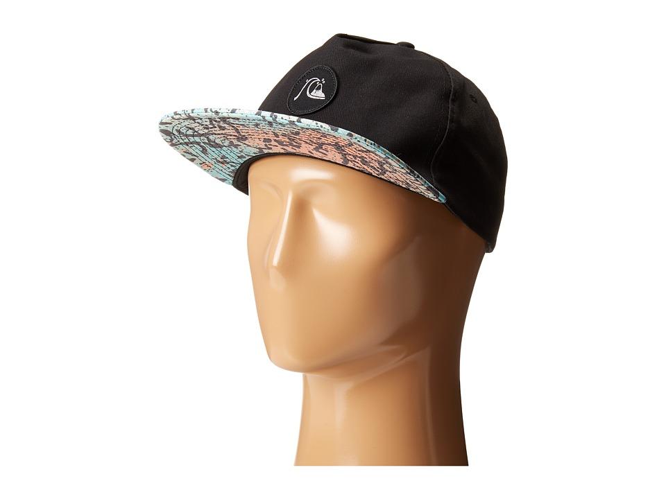 Quiksilver - Engraver Snapback (Black) Baseball Caps