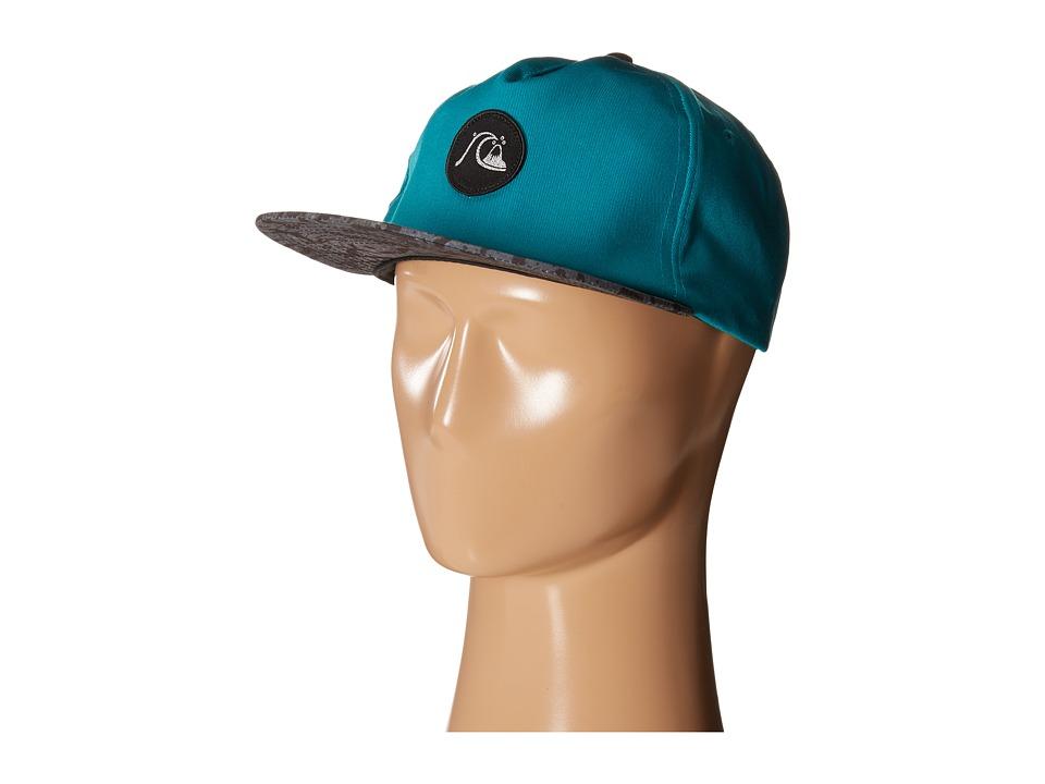 Quiksilver - Engraver Snapback (Pool Green) Baseball Caps