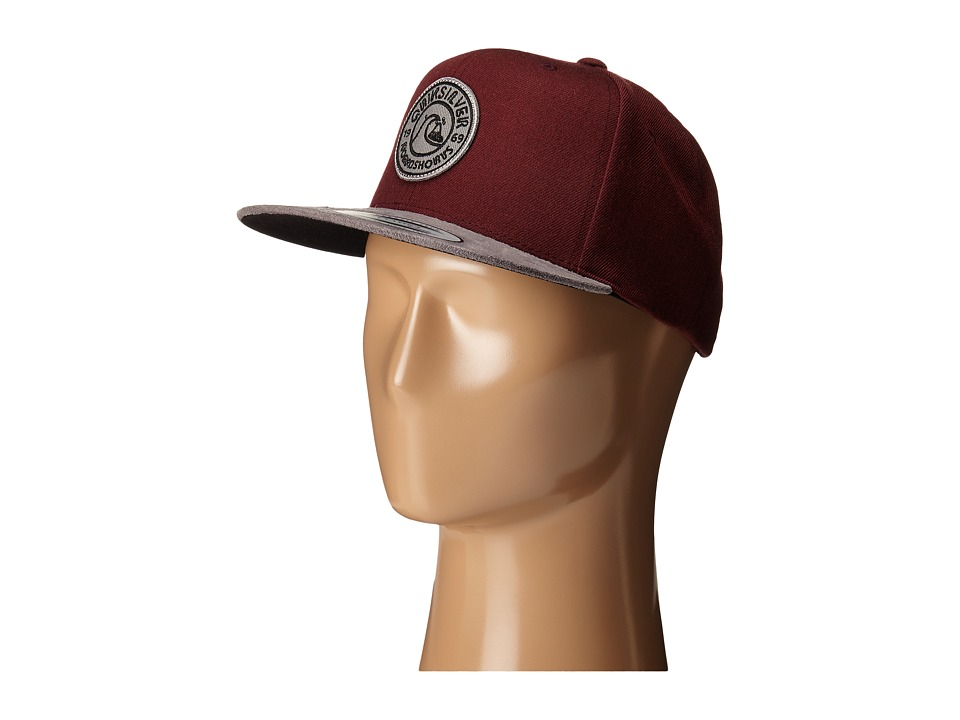 Quiksilver - Versitile Snapback (Port) Baseball Caps