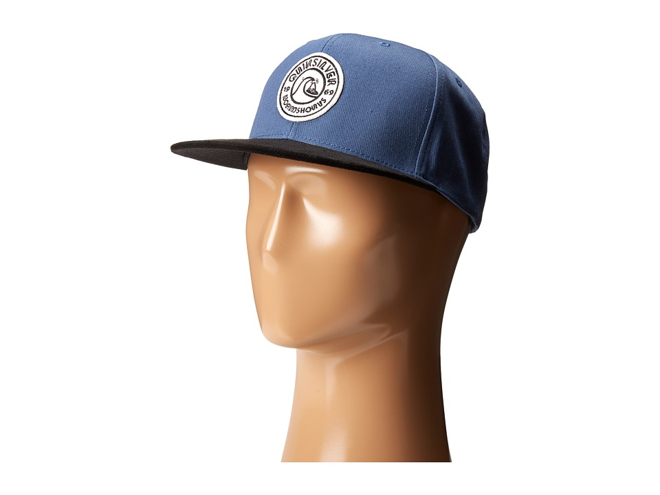 Quiksilver - Versitile Snapback (Dark Denim) Baseball Caps