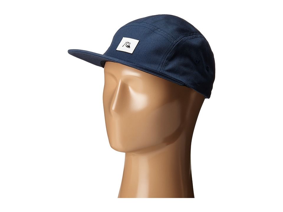 Quiksilver - Solid Sunday Cap (Dark Denim) Baseball Caps