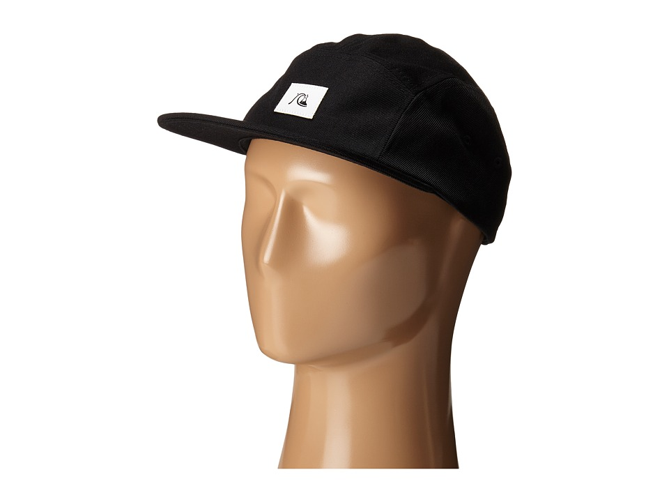 Quiksilver - Solid Sunday Cap (Black) Baseball Caps
