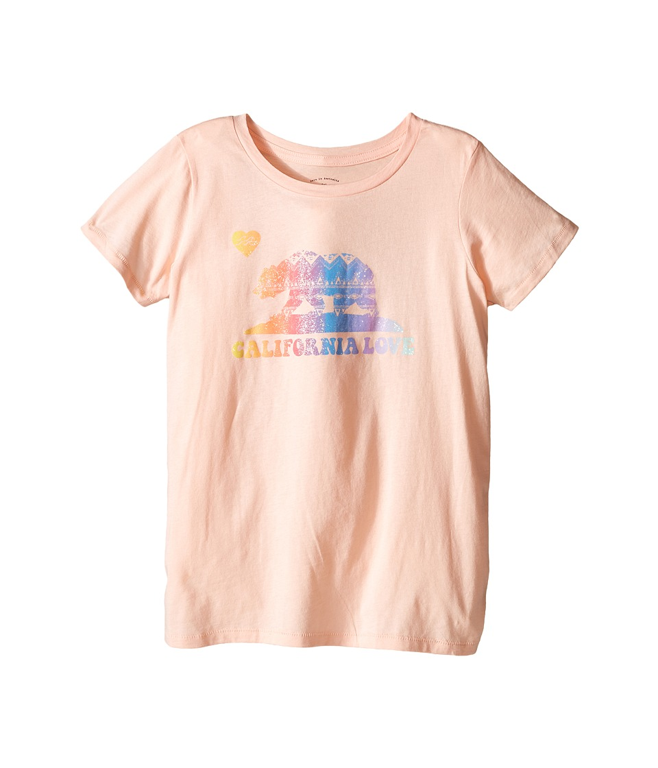 Billabong Kids - Cali Bear Swing Tee (Little Kids/Big Kids) (Blush) Girl's T Shirt