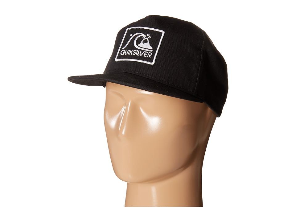 Quiksilver - Graf Snapback (Black) Baseball Caps