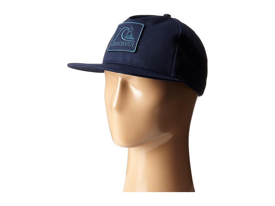 Quiksilver - Graf Snapback (Indigo) Baseball Caps