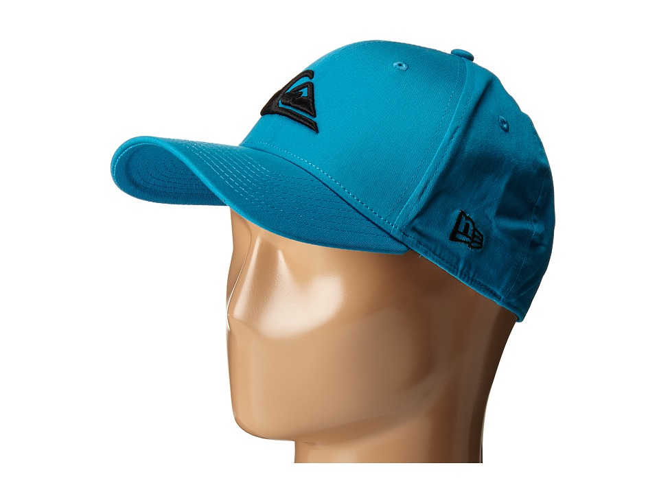 Quiksilver - Mountain Wave Colors Hat (Hawaiian Ocean/Black) Caps