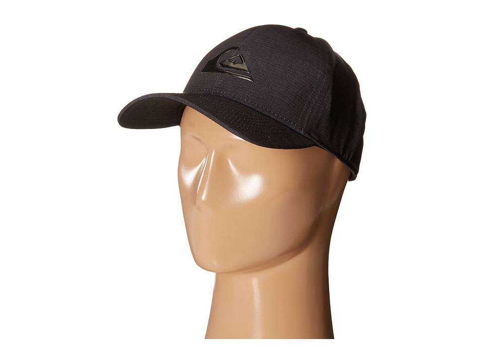 Quiksilver - AG47 M W Bonded Amphibian Hat (Black) Baseball Caps