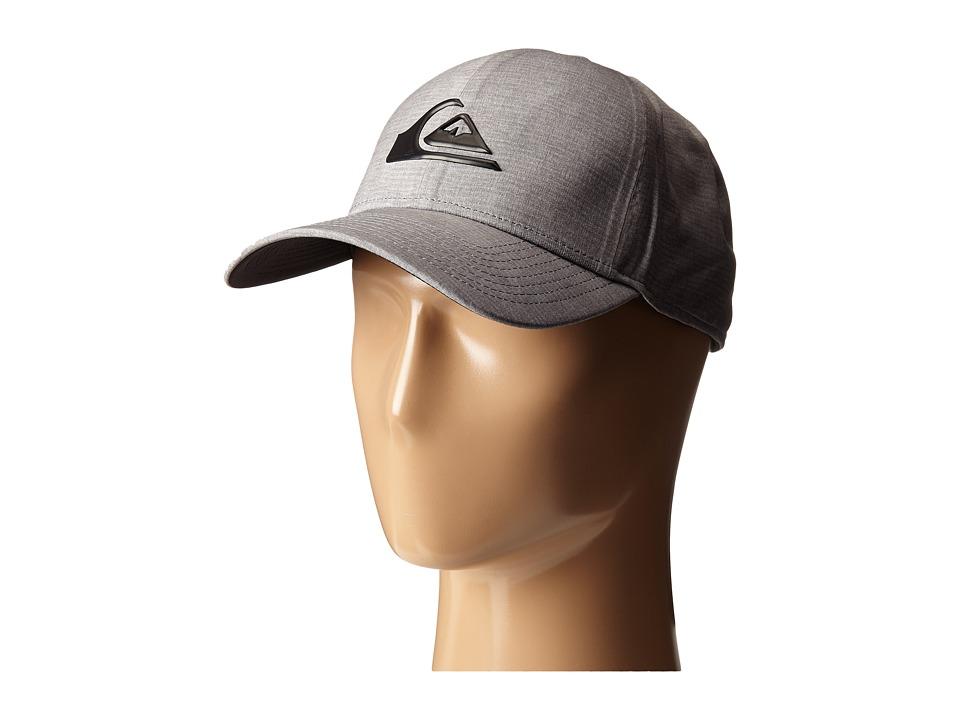 Quiksilver - AG47 M W Bonded Amphibian Hat (Steeple Gray) Baseball Caps