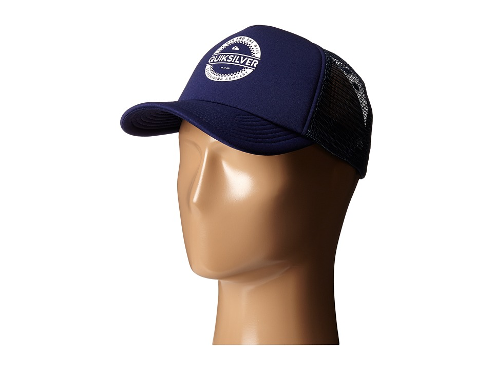 Quiksilver - Everyday 3 Trucker Hat (Navy Blazer) Baseball Caps