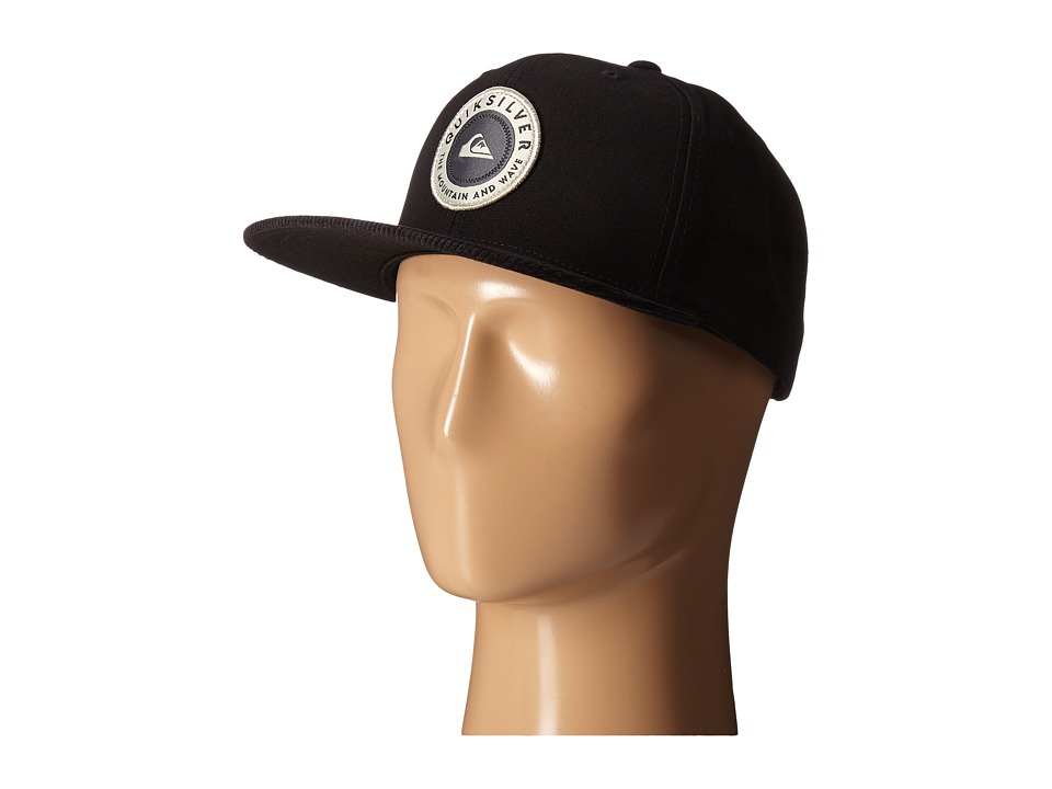 Quiksilver - Roasted Snapback (Black) Baseball Caps