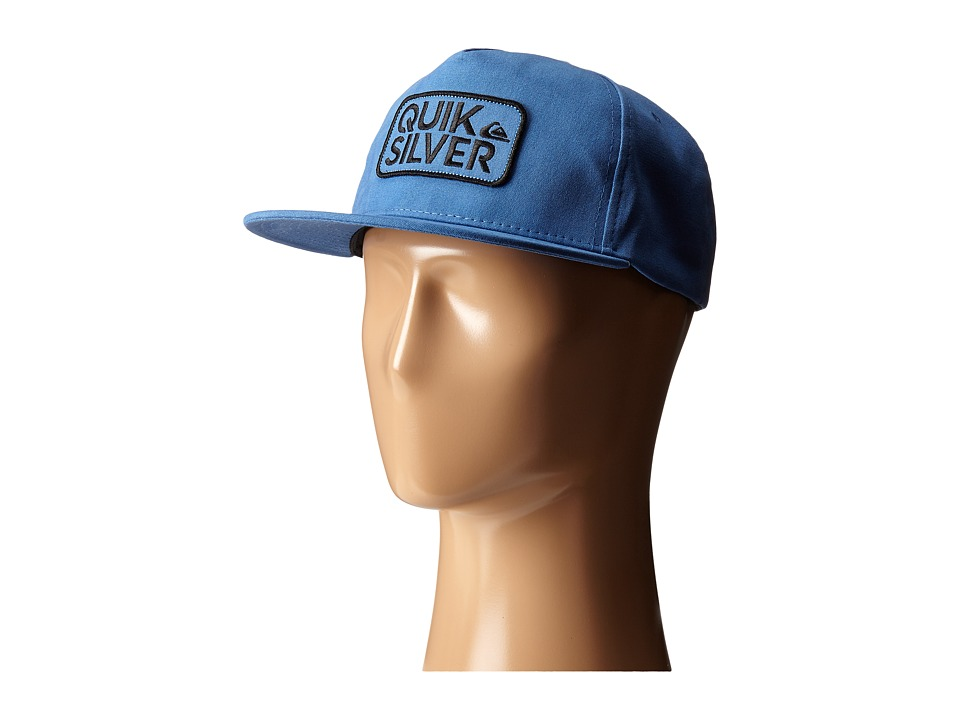 Quiksilver - Barstay Snapback (Federal Blue) Baseball Caps