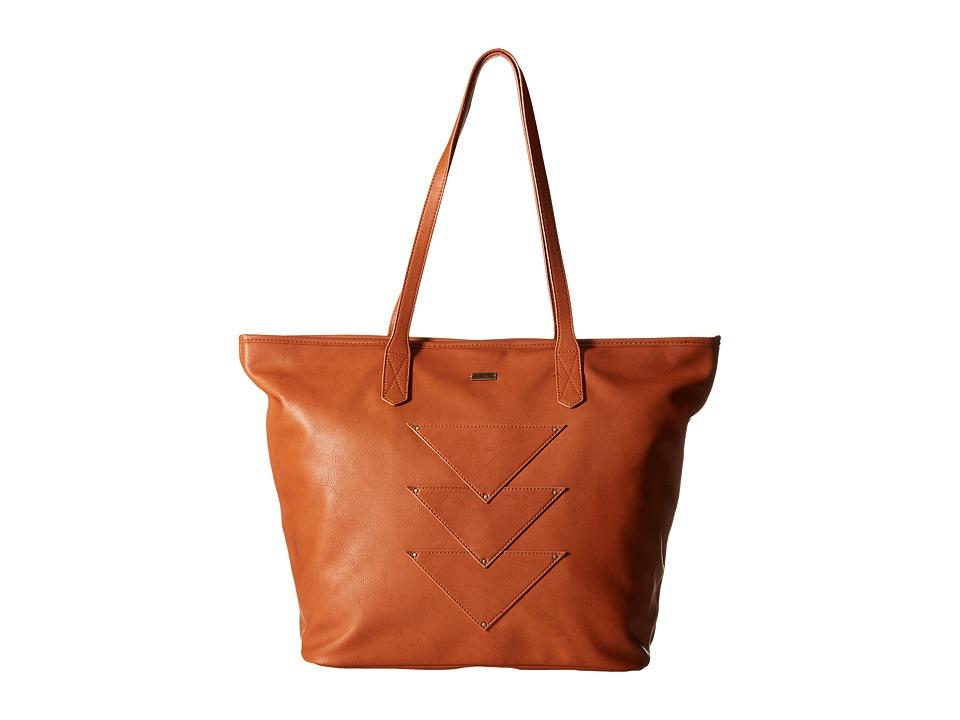 Roxy - Mosaic Spirit Tote (Camel) Tote Handbags