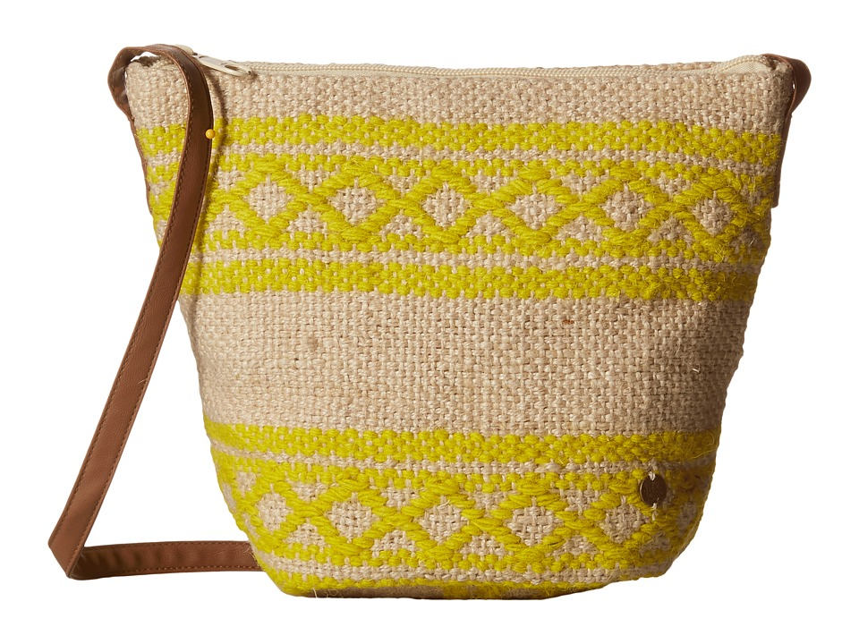 Billabong - Sounds of Sunsets Crossbody (Natural) Cross Body Handbags