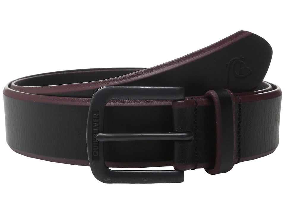 Quiksilver - On The Edge Belt (Black) Men's Belts