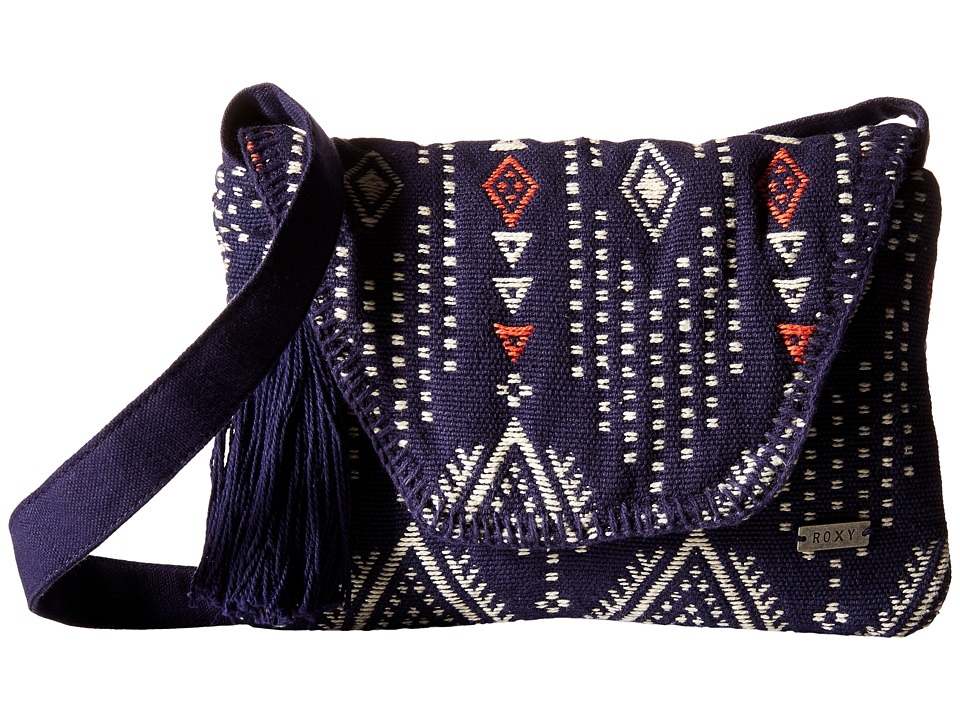 Roxy - Lovely Souk Crossbody (Geo Carpet Combo/Eclipse) Cross Body Handbags