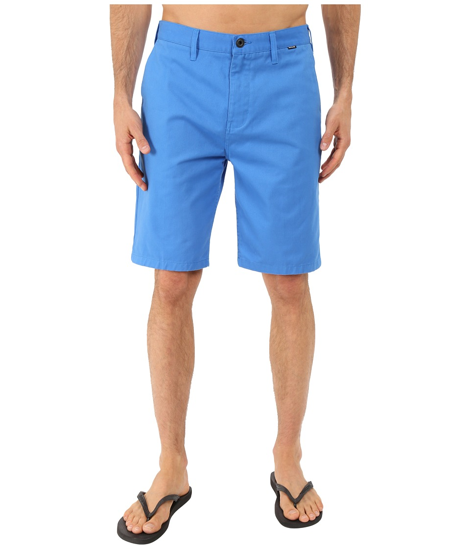 Hurley - One and Only Chino Walkshorts (Fountain Blue) Men's Shorts