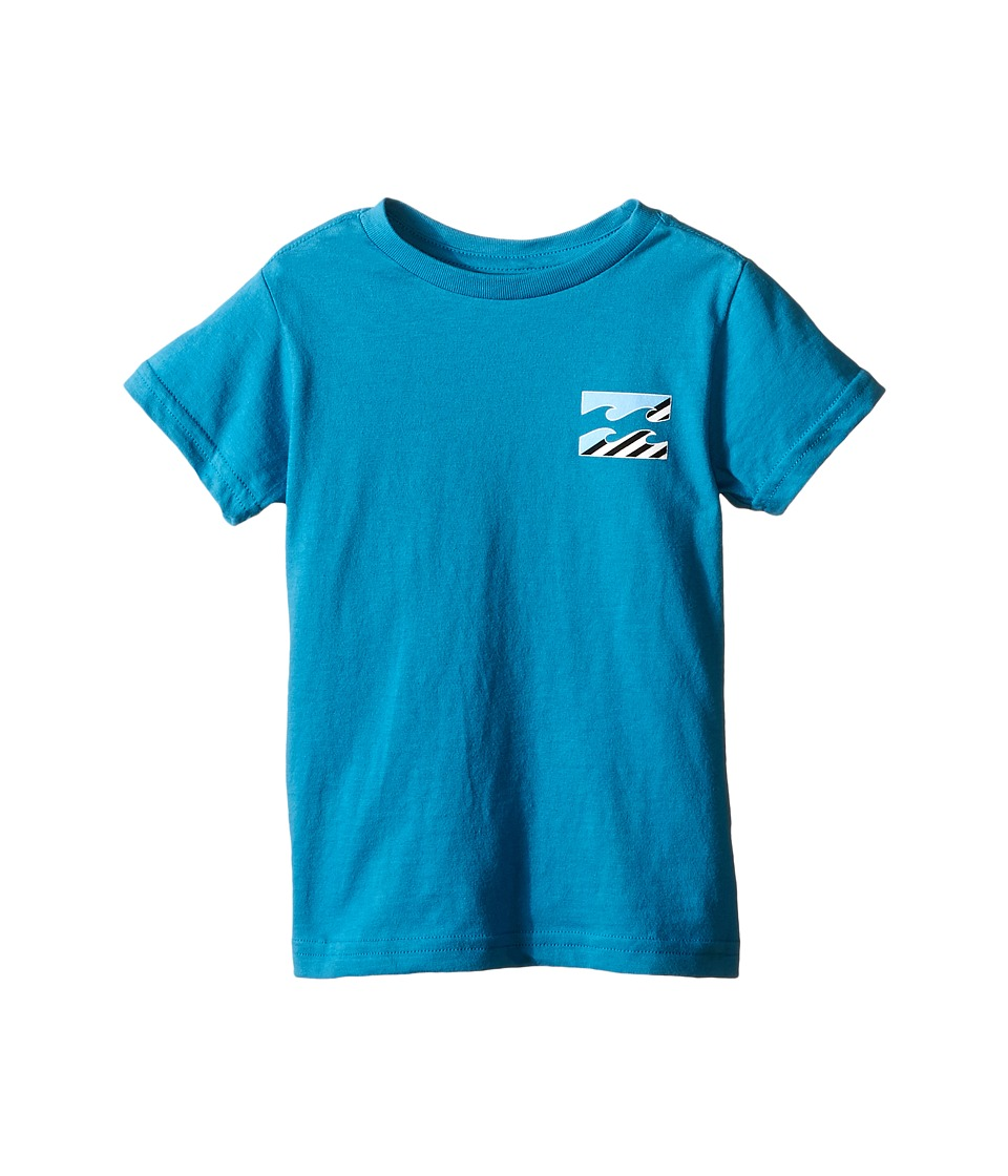Billabong Kids - Monstro T-Shirt (Toddler/Little Kids) (Bright Blue) Boy's T Shirt