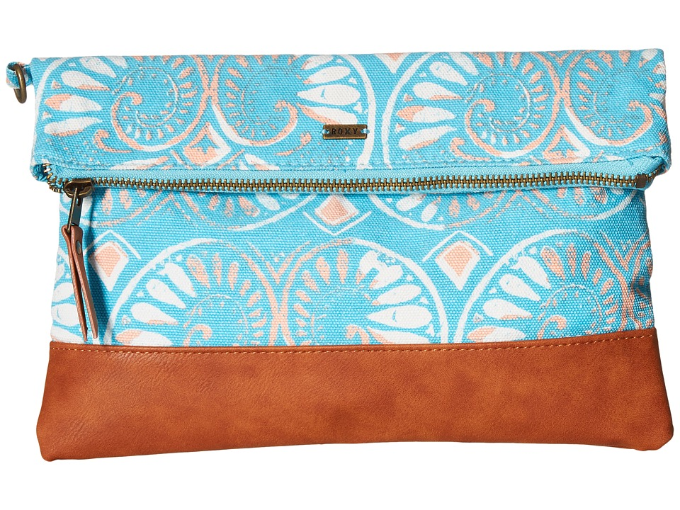 Roxy - Desert Sunrise Clutch (Azulejos Sportwear Combo/Bluebird) Clutch Handbags