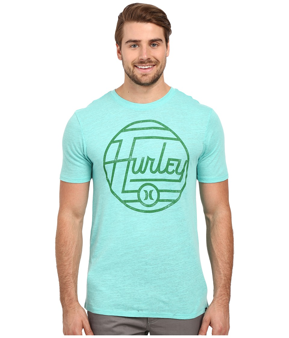 Hurley - Wavelength Tri-Blend Tee (Bermuda Green) Men's T Shirt