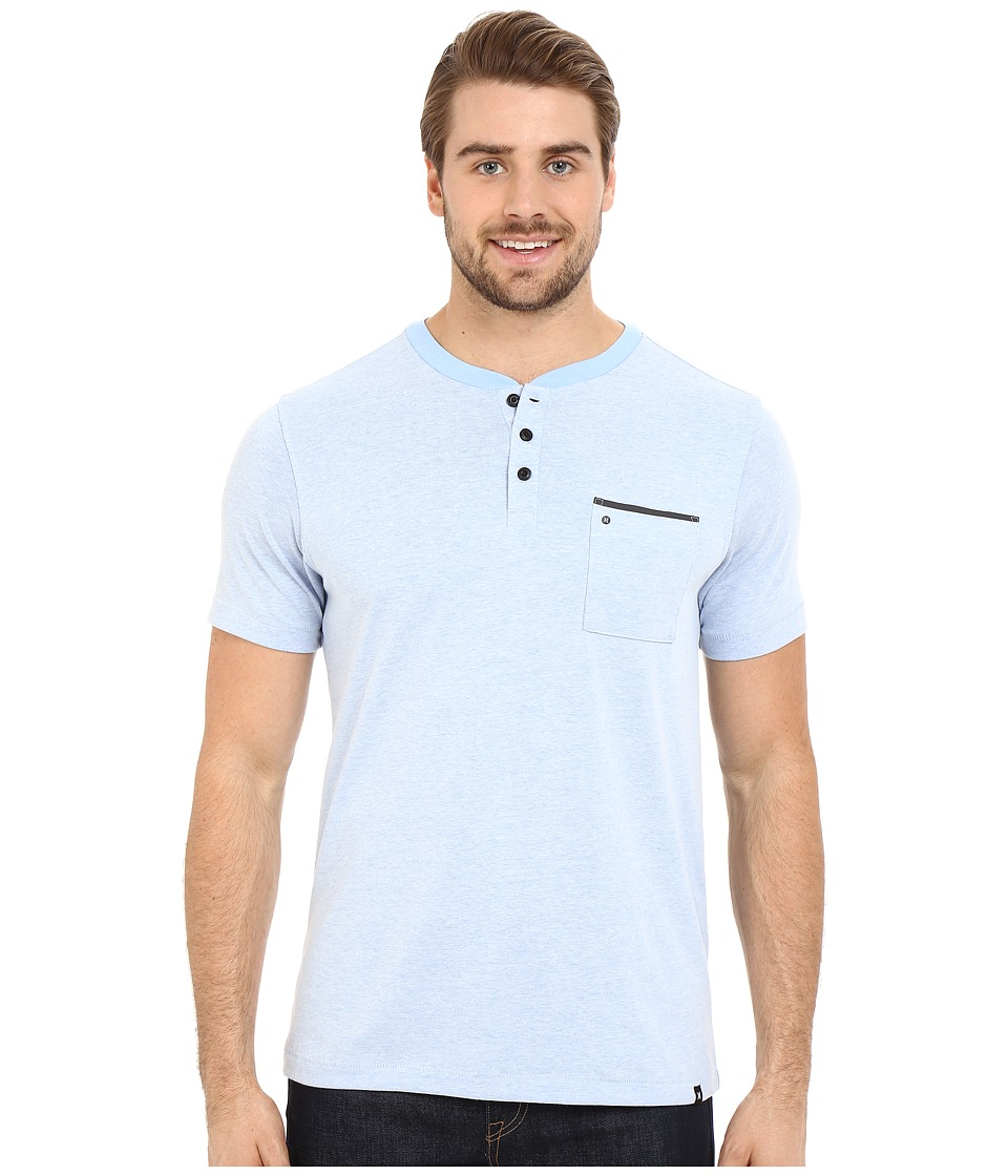 Hurley Dri-Fit Henley (Light Blue) Men