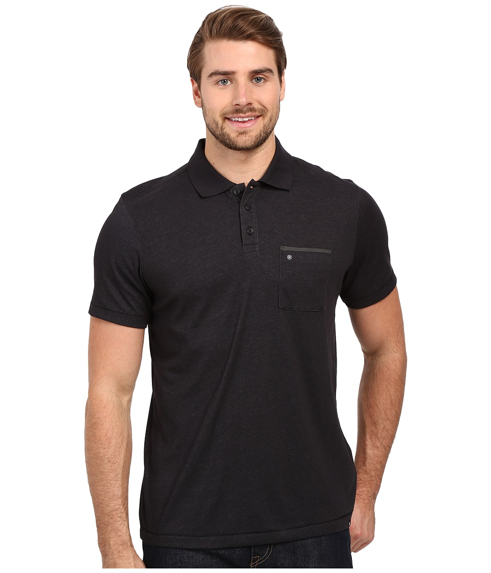 Hurley - Dri-Fit Lagos Polo (Black) Men's Clothing
