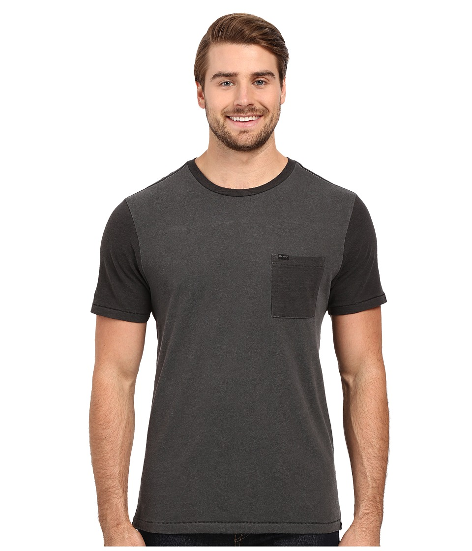 Hurley - Yesterday Crew (Black) Men's Clothing