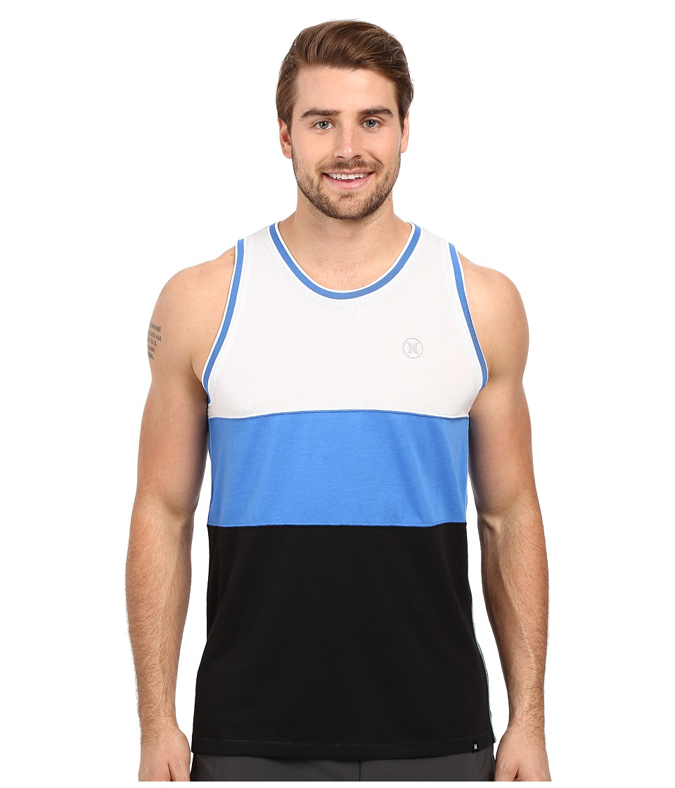 Hurley - Dri-Fit Third Tank (White) Men's Sleeveless