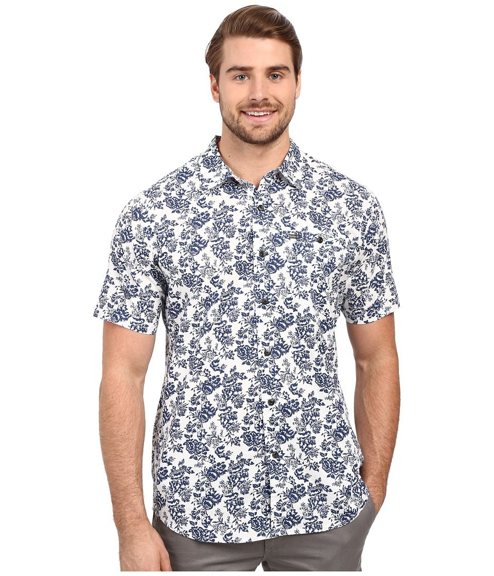 Hurley - Whitmore Short Sleeve Woven (Sail) Men's Clothing