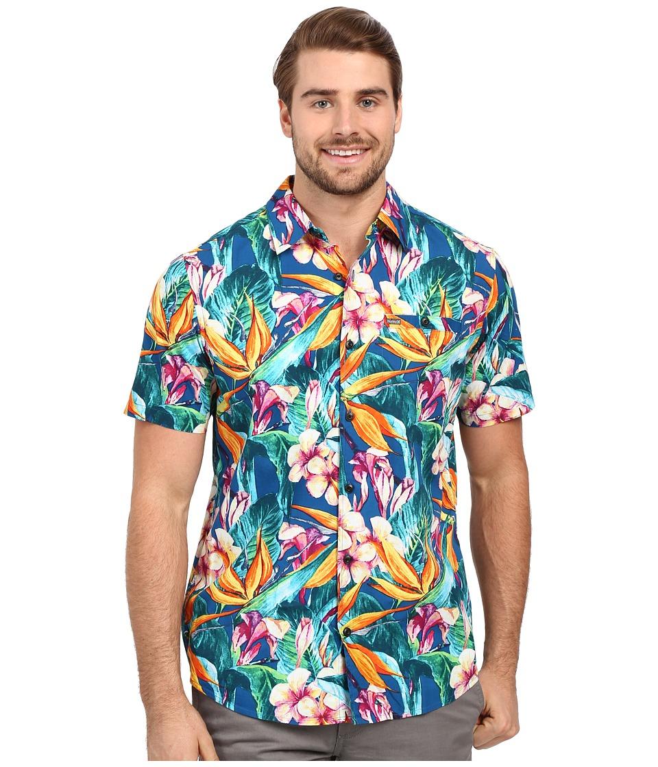 Hurley - Beach Cruiser Short Sleeve Woven (Multi) Men's Clothing