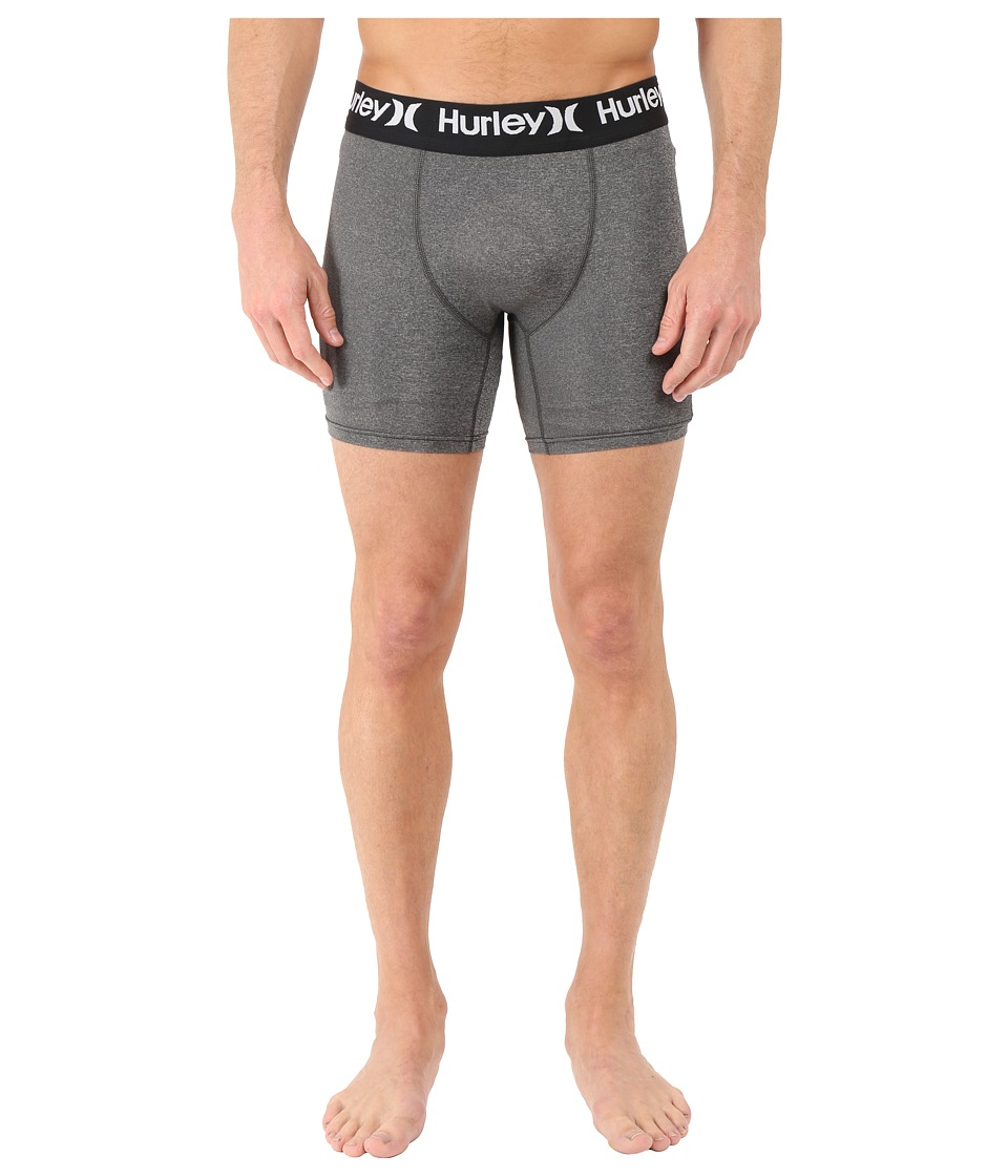 Hurley - Dri-Fit Surf Undershorts (Charcoal Heather) Men's Shorts