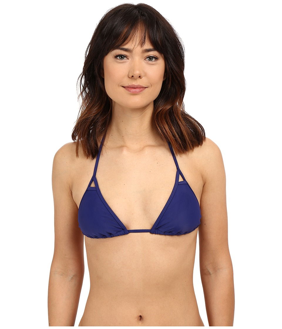 Body Glove - Smoothies Sasha Triangle Slider Top (Midnight) Women's Swimwear