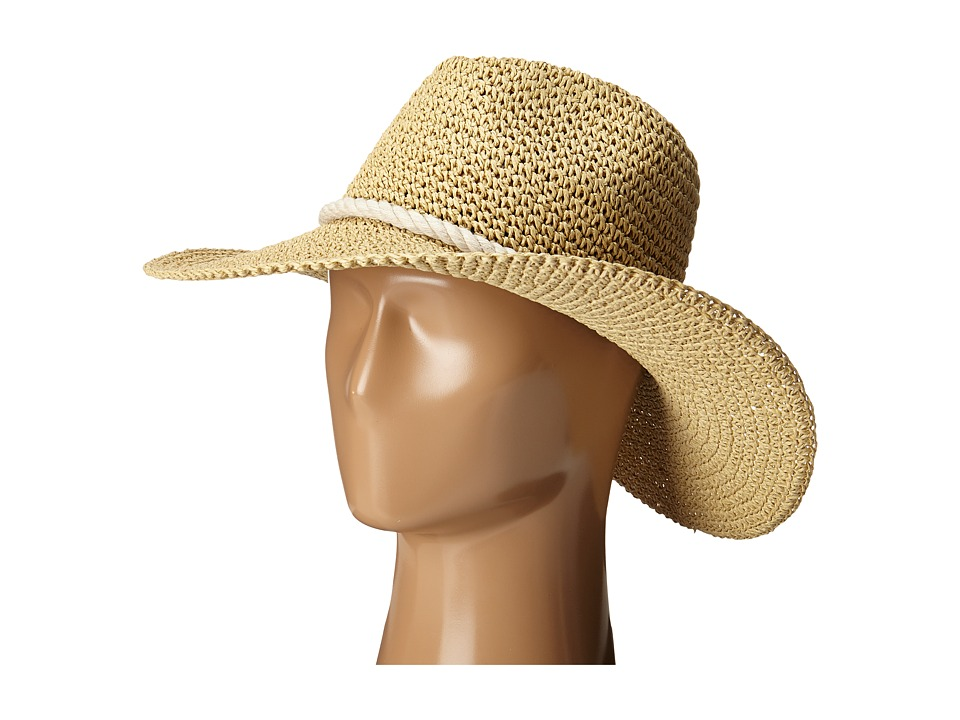 Billabong - Waterloo Rail Boho Hat (Natural) Traditional Hats