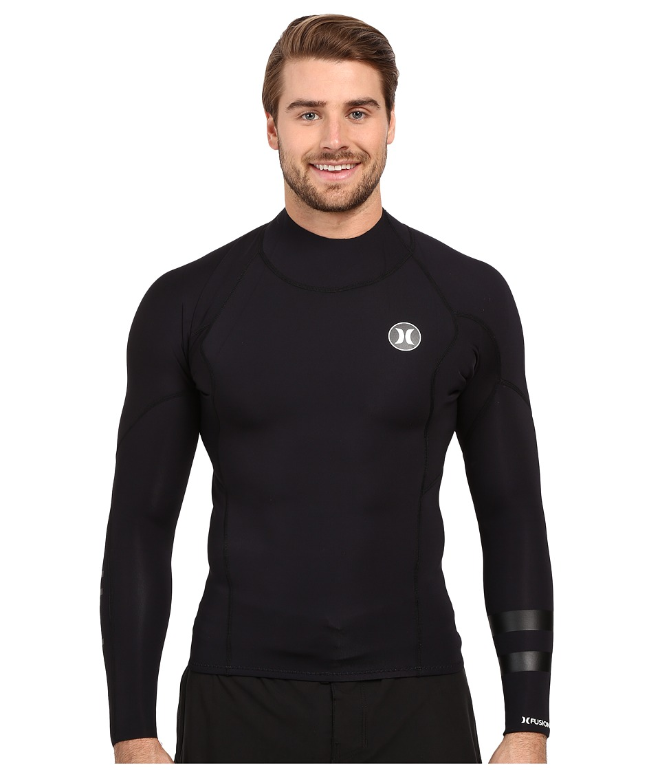 Hurley - Fusion 101 Surf Jacket (Black) Men's Jacket