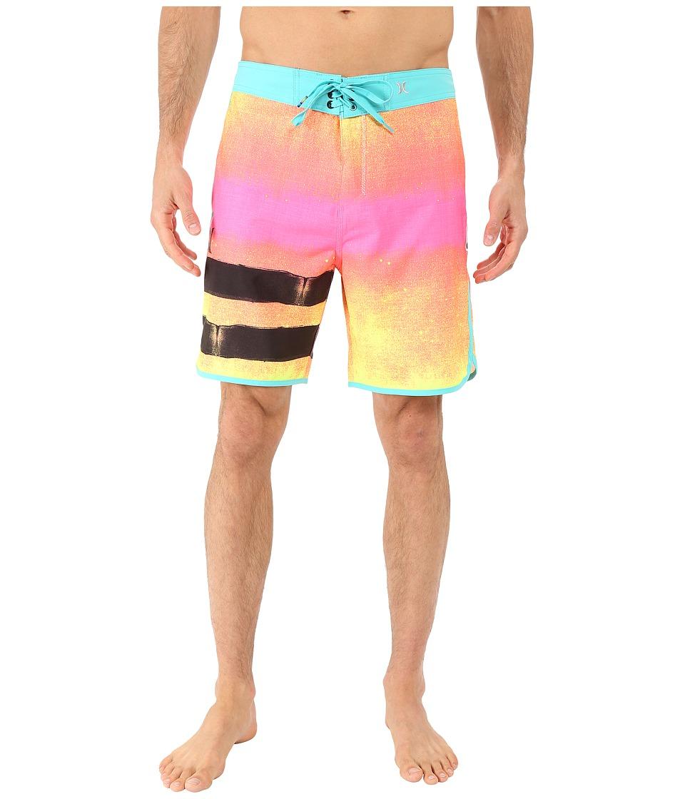 Hurley - Phantom Block Party Ink Boardshorts (Multi) Men's Swimwear