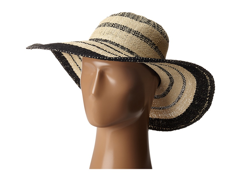 Billabong - Fireside Floppy Wide Brim Straw Hat (Natural) Traditional Hats