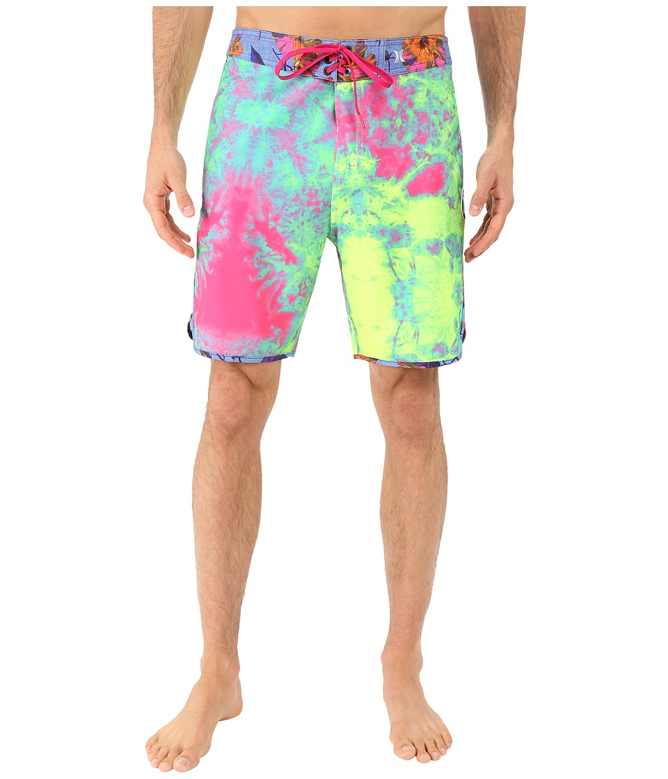 Hurley - Phantom Shibori Boardshorts (Multi) Men's Swimwear
