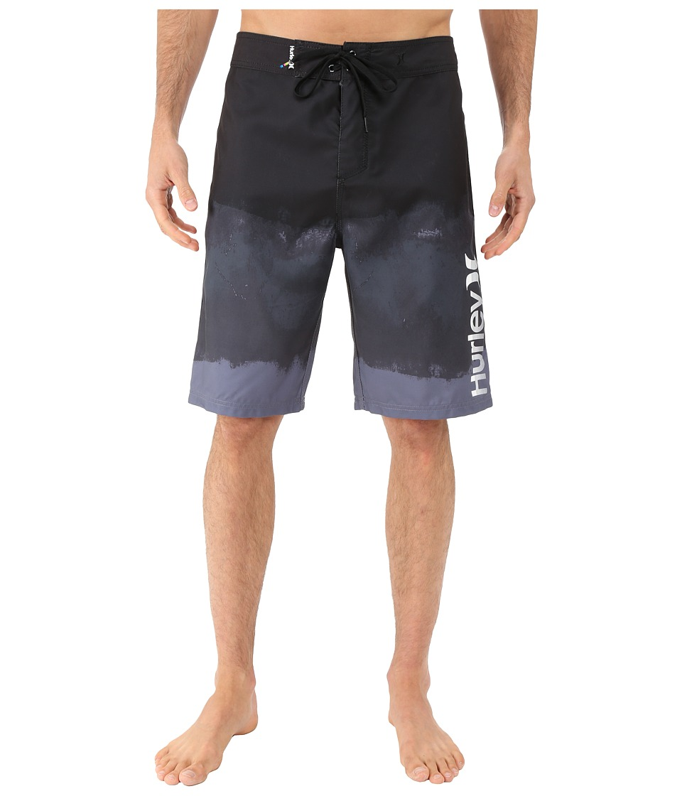 Hurley - Relief 22 Boardshorts (Black) Men's Swimwear
