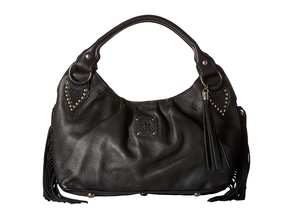 STS Ranchwear - The Gypsy Small Hobo (Black) Hobo Handbags
