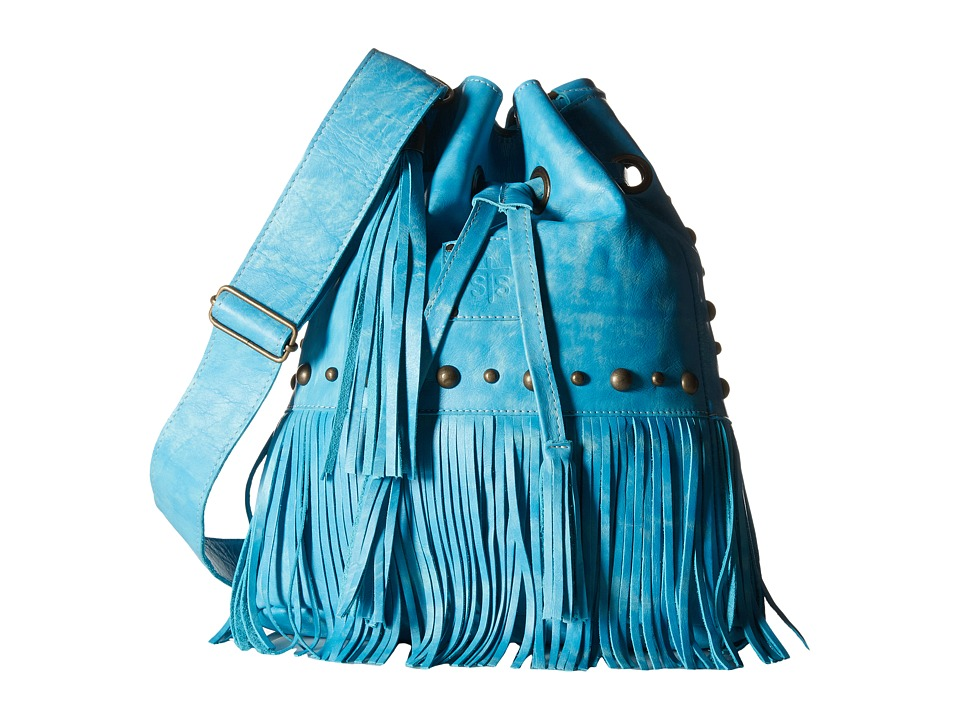 STS Ranchwear - The Free Spirit Bucket Bag (Turquoise) Handbags
