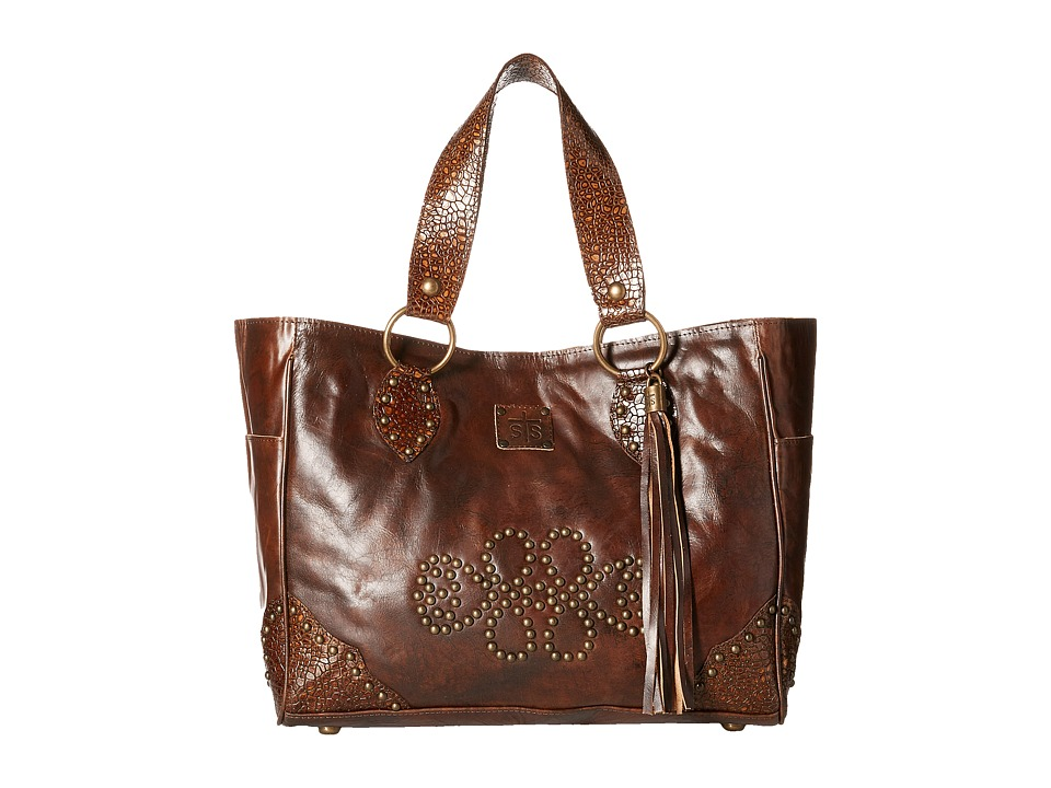 STS Ranchwear - The Jesse Jane Tote (Brown) Tote Handbags