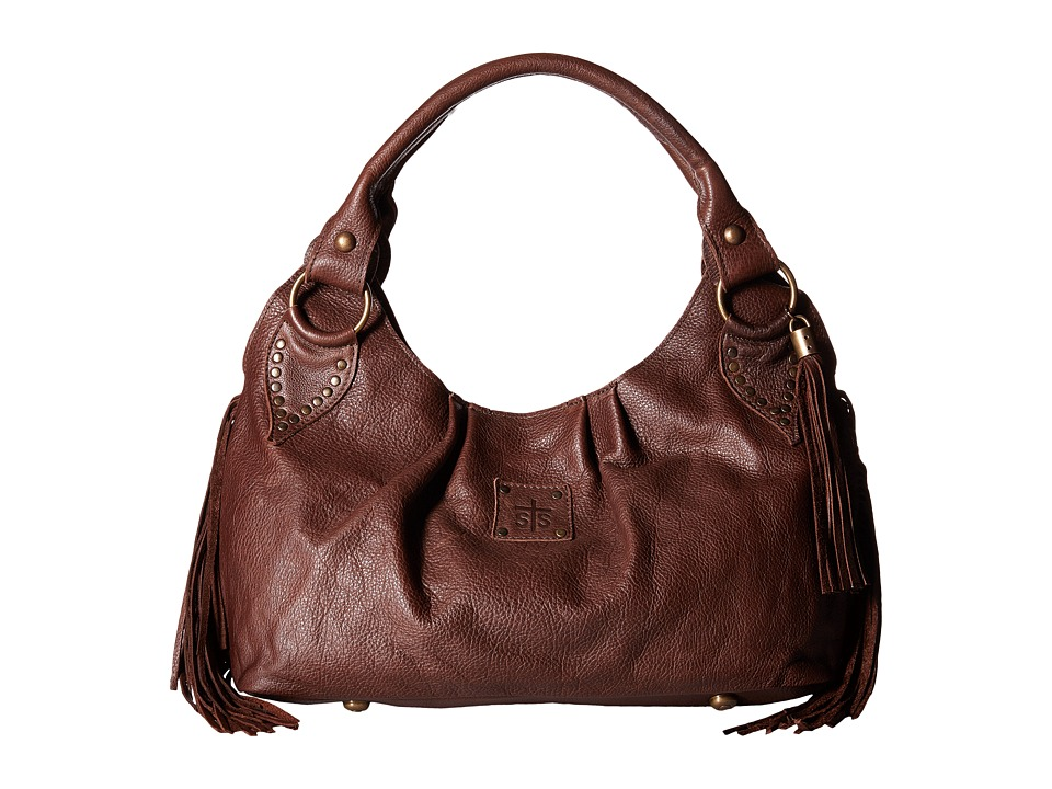 STS Ranchwear - The Gypsy Small Hobo (Dark Brown) Hobo Handbags