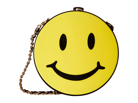 Gabriella Rocha - Joy Happy Face Purse (Yellow) Clutch Handbags