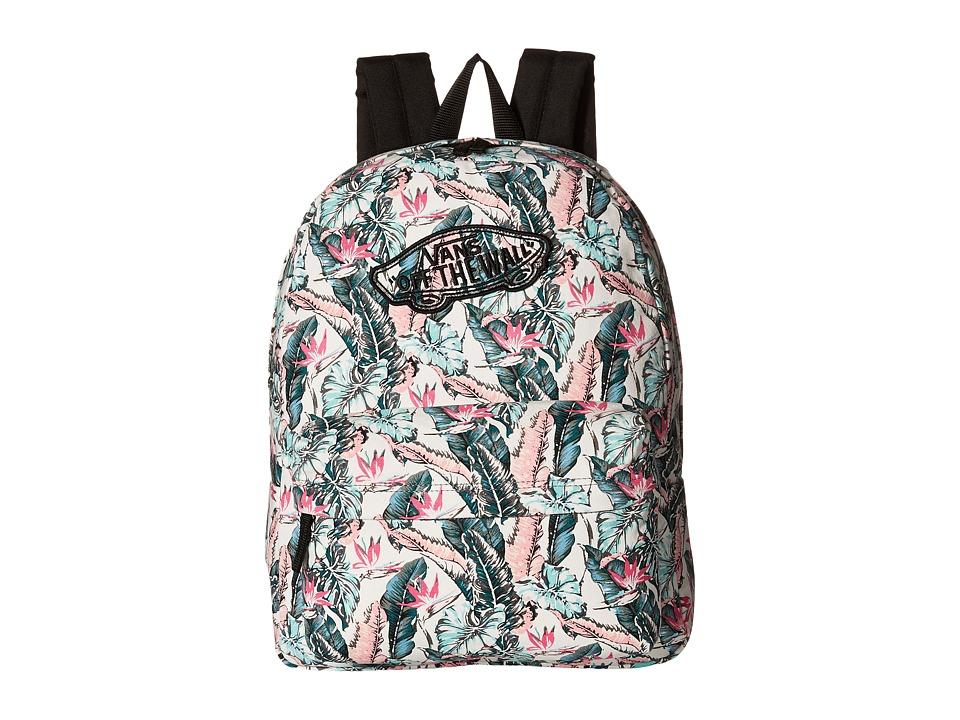 Vans - Realm Backpack ((Tropical) Multi/Black) Backpack Bags