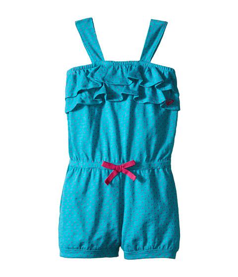 Roxy Kids - Sweet Dot Romper (Toddler/Little Kids) (Lake Blue) Girl